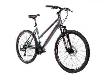 Vtt semi rigide femme moma bikes gtw 26 shimano 24v argent s m 150 164 cm