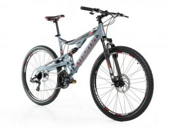 Vtt tout suspendu moma bikes eqx 27 5 shimano 24v argent m l 165 179 cm