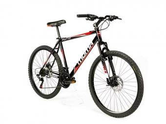 Vtt semi rigide moma bikes fox 26 shimano 21v noir unique 165 185 cm