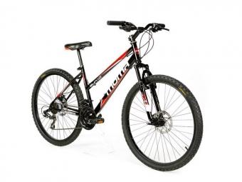 Vtt semi rigide femme moma bikes sun 26 shimano 21v noir unique 155 175 cm