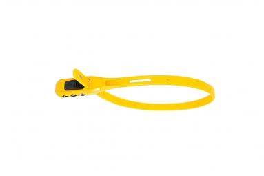 Antivol z lok combo yellow