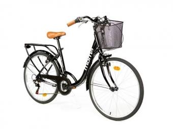 Vélo de Ville Moma Bikes City Classic 26'' Shimano 18V Noir