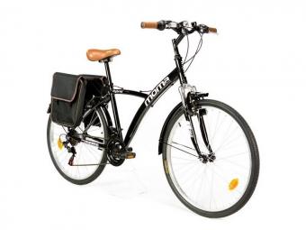 Vtc moma bikes hybrid 26 shimano 18v noir unique 165 185 cm