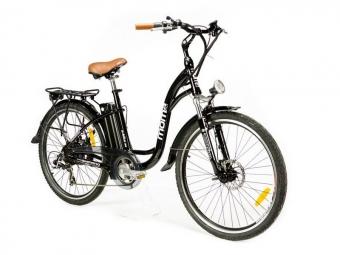 Vélo de Ville Électrique Moma Bikes E-26 Panaché 7V Noir