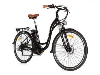 Vélo de Ville Électrique Moma Bikes E-28 Panaché 7V Noir