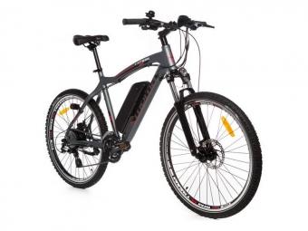Vtt semi rigide electrique moma bikes 26 shimano 8v gris unique 165 185 cm