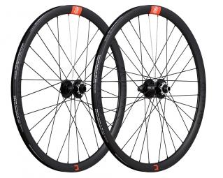 Paire de roues Novatec Factor 21 27.5 | 15x100/12x142mm | Corps SRAM XD