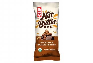 Barre Énergétique CLIF BAR Nut Butter Filled Chocolat Beurre de Noisette Bio 50g