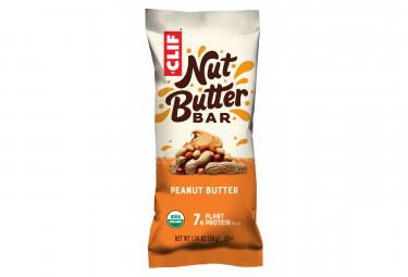Barre Énergétique CLIF BAR Nut Butter Filled Beurre de Cacahuète Bio 50g