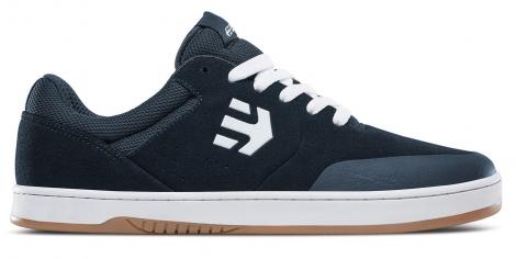 Chaussures de skate etnies marana bleu fonce blanc bleu 39