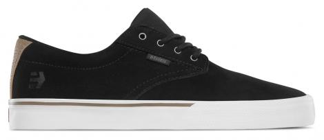 Image of Chaussures de skate etnies jameson vulc noir blanc argent 43