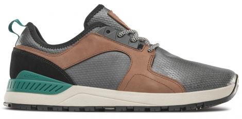 Image of Chaussures de skate etnies cyprus scw noir marron vert 41