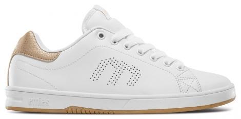 Chaussures de skate etnies callicut ls femme blanc rose 40