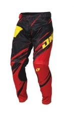 Pantalon one industries vapor lite side swipe rouge noir 34