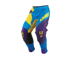 Pantalon one industries mx dh bmx gamma block 14 1 cyan 36