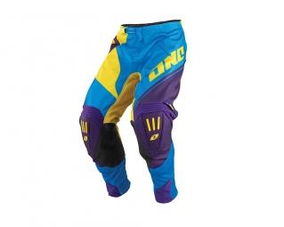 Pantalon one industries mx dh bmx gamma block 14 1 cyan 28