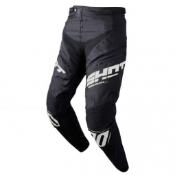 Image of Pantalon bmx shot rogue kid black white 14 15 ans