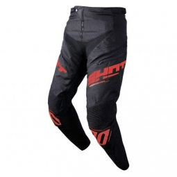 Pantalon bmx shot rogue kid black red 4 5 ans
