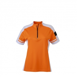 James et nicholson maillot cycliste femme jn451 orange s
