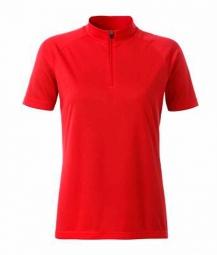 James et nicholson maillot cycliste zippe femme jn511 rouge xs