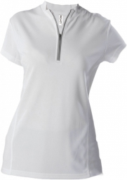 Proact maillot cycliste femme pa469 blanc manches courtes xs