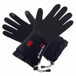 Sous-gants chauffants GLOVII couleurs - Noir, Taille - S-M