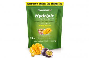 Boisson Énergétique Overstims Hydrixir Antioxydant Mangue Passion 3 kg