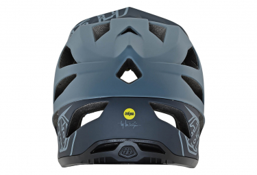 Troy Lee Designs Stage Stealth Full Face Helmet Matte Grey