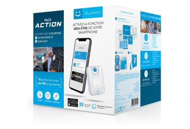 Bluetens Pack Action + 1 Etui + 1 Clip ceinture Electrostimulator