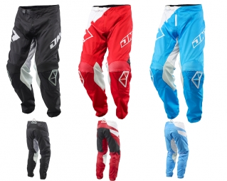 Pantalon one industries mx dh bmx atom wedge red 36