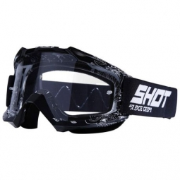 Masque shot assault bandana black ecran transparent