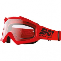 MASQUE SHOT ASSAULT RED Ecran Transparent