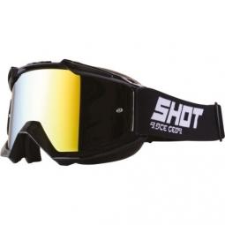 MASQUE SHOT IRIS SOLID BLACK GLOSSY Ecran Iridium Yellow