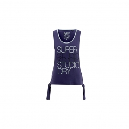 Débardeur Superdry Studio Tie Belle Blue/washed