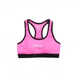 Brassière Superdry Core Gym Bra Neon Pink