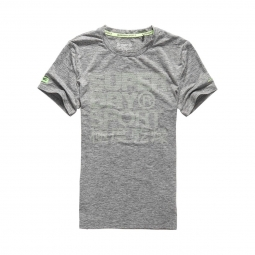 T-shirt Superdry Sports Athletic Graphic Steel Grey