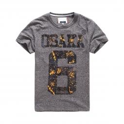 T-shirt Superdry Osaka Splatter Grey Grit