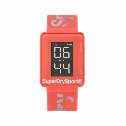 Montre Superdry Lcd Gym Sprint Pink