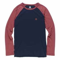 T shirt element blunt ls oxblood red xl