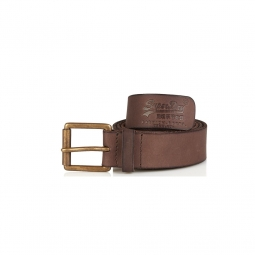 Ceinture Superdry Western Belt In A Box Dark Brown