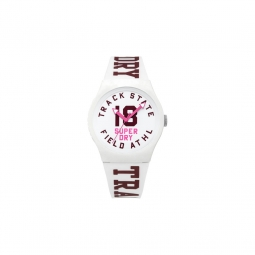 Montre Superdry Urban Track And Field Blanc