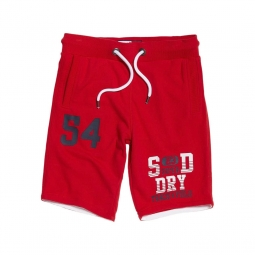 Short superdry trackster lite upstate red xl