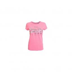 T-shirt Superdry Vintage Logo Emboss Fluro Pink