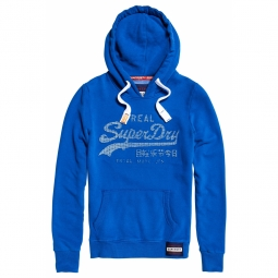 Sweat Enfant Superdry Vintage Logo Emboss Anchor Blue