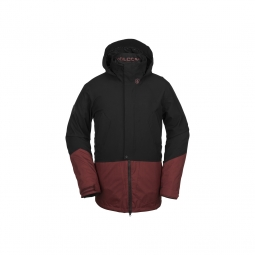 Veste de snowboard volcom pat moore 3 in 1 jkt burnt red xl