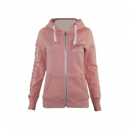 Sweat superdry track et field borg track peach s
