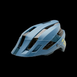 Casque vtt fox flux helmet blue steel xs s