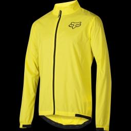 Veste fox attack wind jacket blazing yellow m