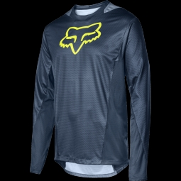Maillot de vtt fox youth demo ls jersey midnight s