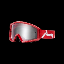 Masque de vtt fox main goggle race red